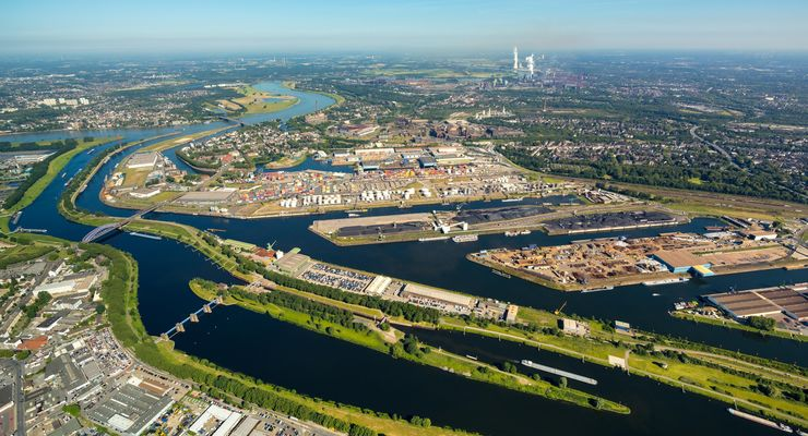 Duisburger Hafen, Hinterlandterminal, Terminal