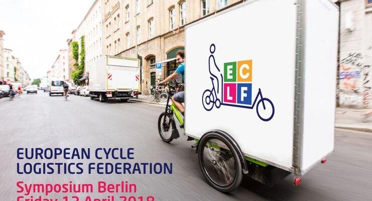 ECLF, European Cycle Logistics Federation, Lastenrad, Berlin