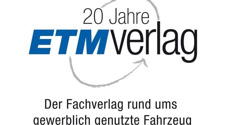 ETM Verlag, 20 Jahre, neues Logo