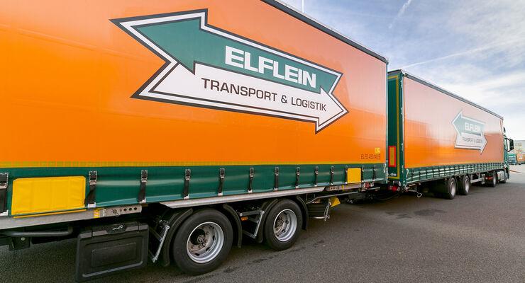 Elflein, Zugmaschine