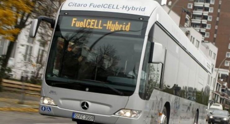 Emissionsfreier Busverkehr auf dem Prüfstand