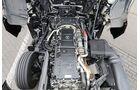 Fahrbericht Mercedes Actros 1863 MB FB Kern schwarz silber Motor Motorenkurve technische Daten Fahrerhaus Getränkehalter Führerhaus Kabine Kasten