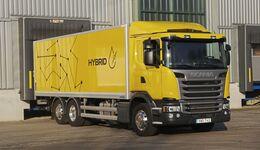 Fahrbericht Scania G320 Hybrid alternativer Antrieb Verteiler Lkw