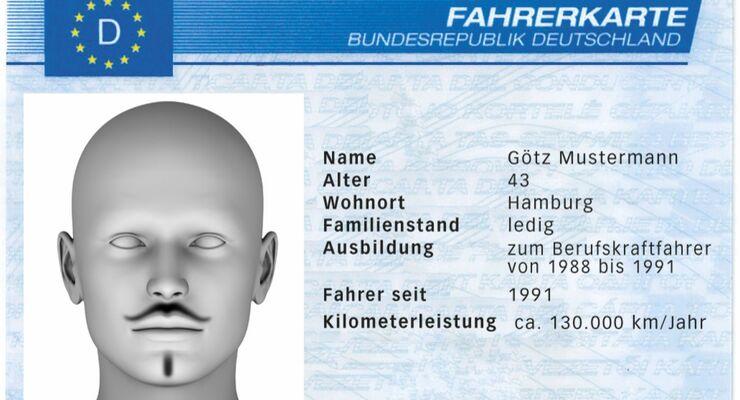 Fahrerkarte Götz