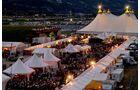 Festival Interlaken Westernstadt Abendstimmung