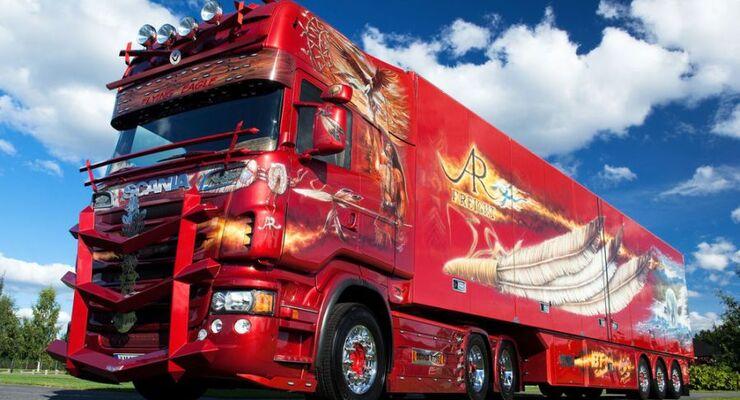 Firebird Scania R 730 AR Freight