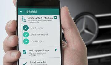 Fleetboard übernimmt Logistik-Anwendung Habbl