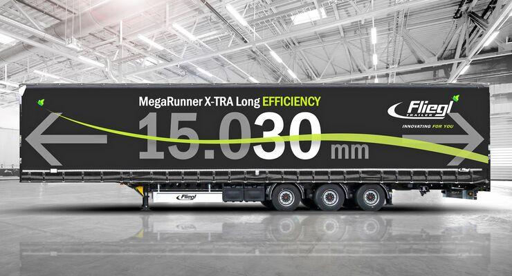 Fliegl Trailer Mega Runner X-TRA Long Efficiency