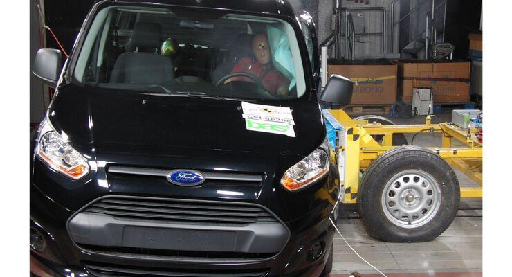 Ford Tourneo Connect, NCAP-Crashtest
