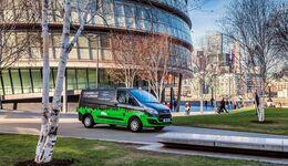 Ford Transit Custom PHEV-Testfahrzeuge in Valencia