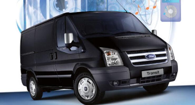Ford-Transit: Sonderedition zum Geburtstag