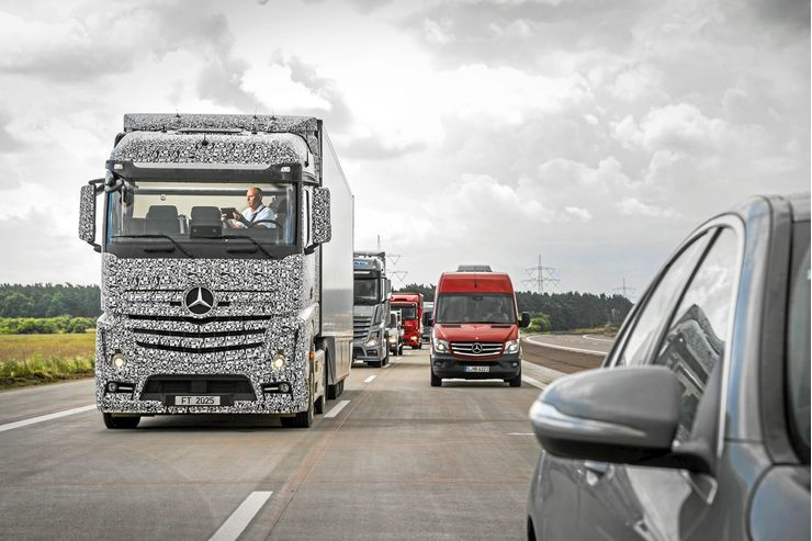 Future Truck Mercedes-Benz