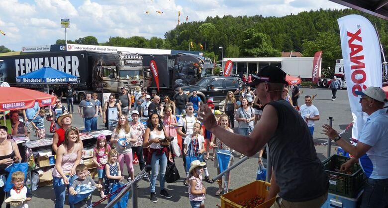 Geiselwind 2017, Festival, FF 8/2017, Supertrucks, Trucker- & Country.