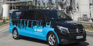 Gemeinsame Presseinformation Mercedes-Benz Vans und BASF: Mercedes-Benz Vans und BASF vereinbaren Zusammenarbeit im Bereich Mobilität