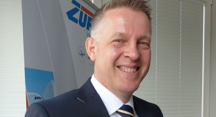 Geschäftsführer Jürgen Wolpert, Zufall Logistics Group, 2014