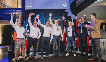 Global TechMasters Truck 2019 – die Weltmeisterschaft der Mercedes-Benz Truck-ProfisGlobal TechMasters Truck 2019 – the World Championship of Mercedes-Benz Truck Professionals