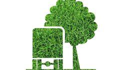 Grüne Umwelg, Baum, Lkw, CO2, Klima