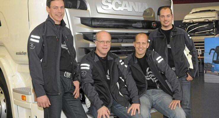 Gruppenfoto aller deutschen Gewinner