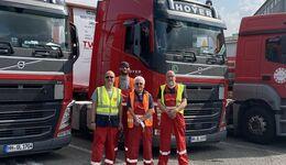 Hoyer Group schickt Tankcontainer für Flutopfer