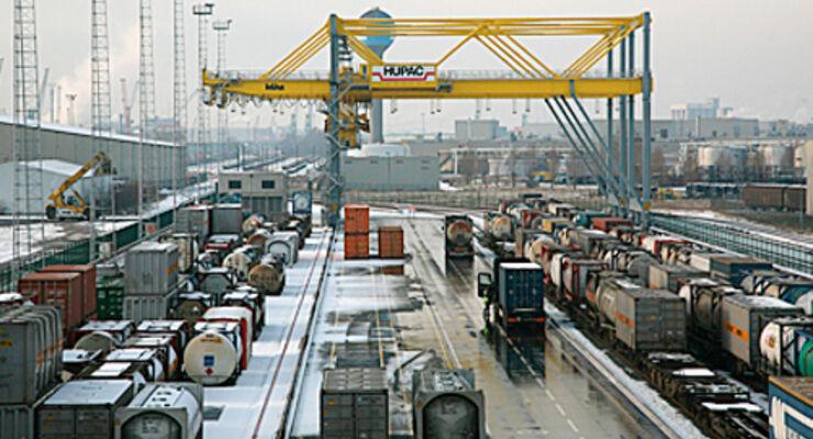 Hupac eröffnet Terminal in Antwerpen