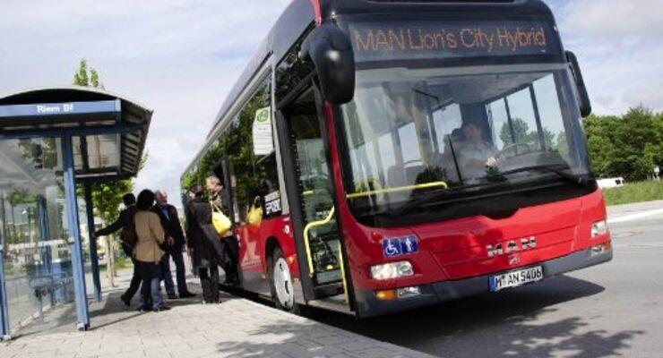 Hybrid-Stadtbus von MAN geht in Serie
