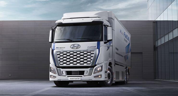 Hyundai Xcient Fuel Cell 2021