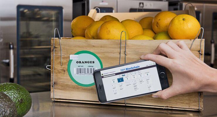 IBM Blockchain in der Lebensmittellogistik