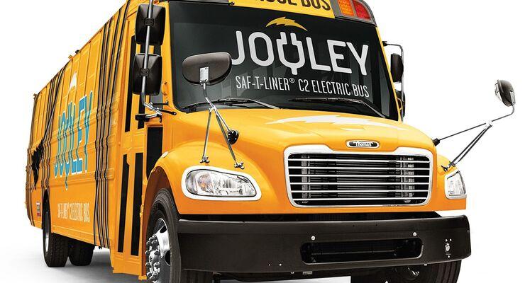 Ikone unter Strom: Daimler stellt seinen ersten vollelektrischen Schulbus in den USA vor