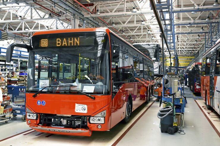 Iveco Bus Standort in Tschechien
