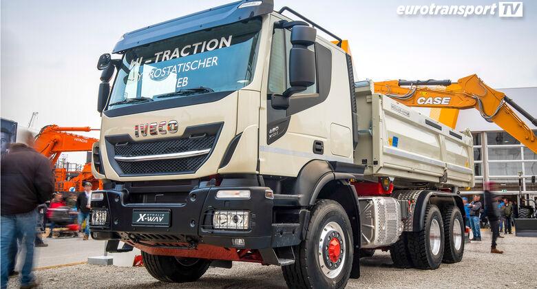 Iveco Stralis 480 X-Way auf der bauma 2019