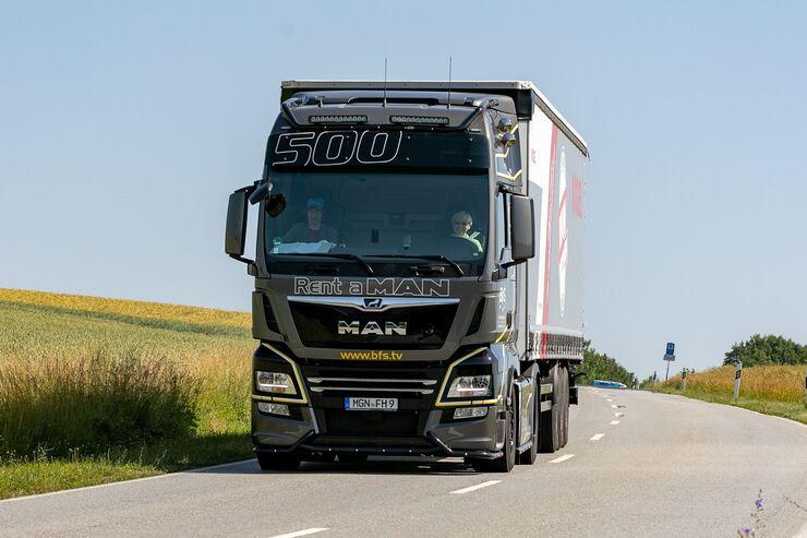 Iveco und MAN auf dem Truck-Grand-Prix