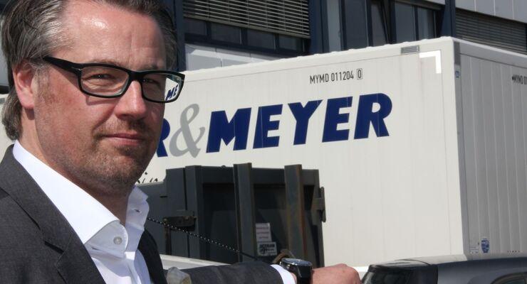 Jan Weber Geschäftsführer Logistikdienstleister Meyer & Meyer Osnabrück