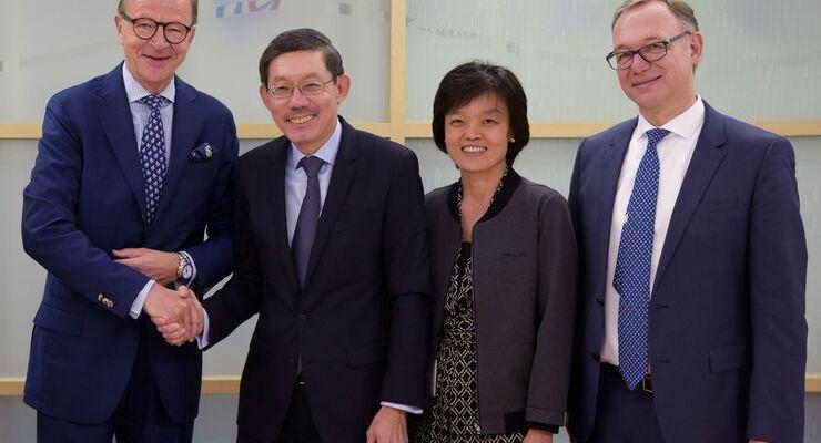 KN und Temasek gründen Joint-Venture.