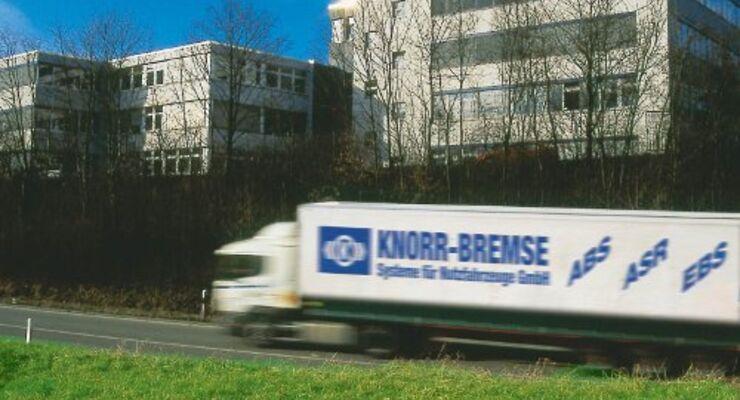 Knorr Bremse spürt Wirtschaftsflaute