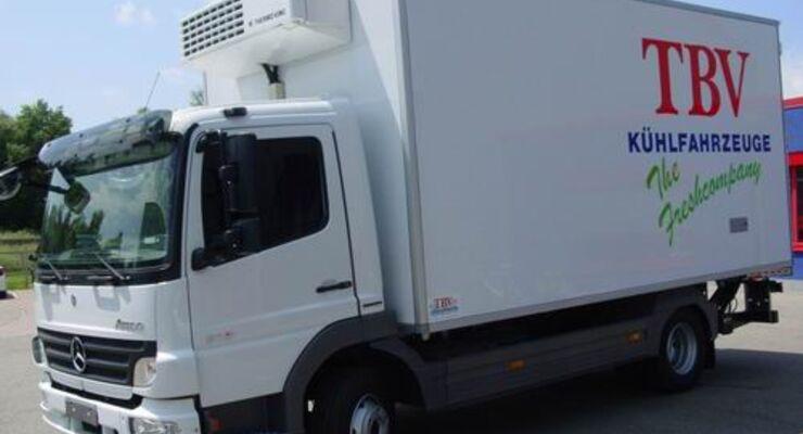 Kühlspezialist TBV zeigt neue Aufbauten