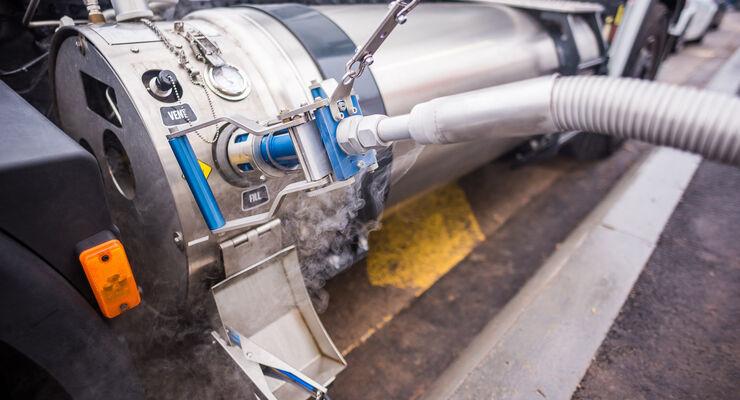 LNG, LNG-Betankung, Alternoil, Tankstelle, LNG-Netz