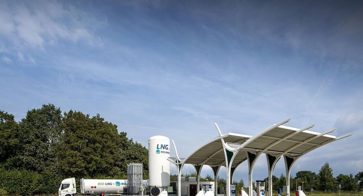 LNG, Tankstelle, Rolande