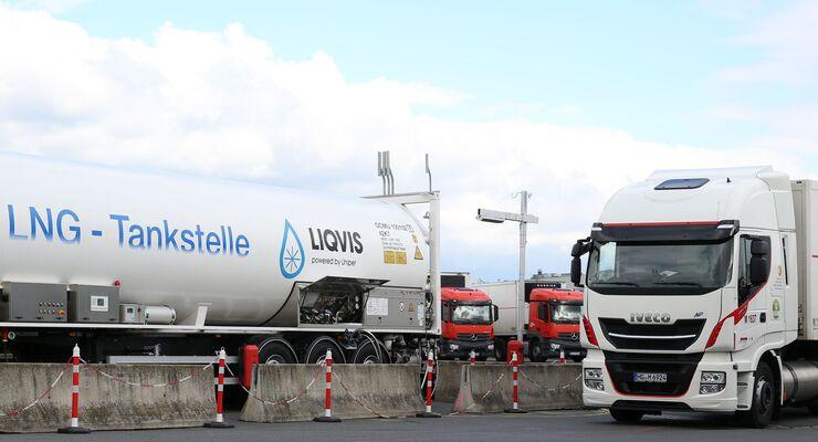 LNG-Tankstelle Uniper Meyer Logistik