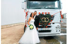 Leser und ihre Trucks, Ricarda und Daniel Nagel