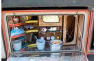 Lkw-Fahren im Libanon, Bordküche, Staukasten