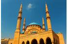 Lkw-Fahren im Libanon, Moschee
