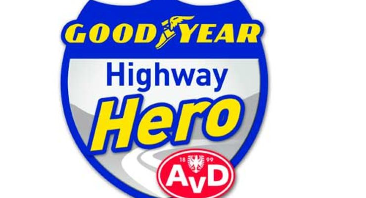 Lkw-Fahrer ist Held des Monats