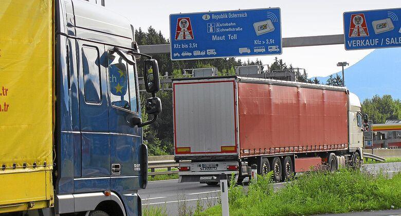 Lkw-Maut in Österreich