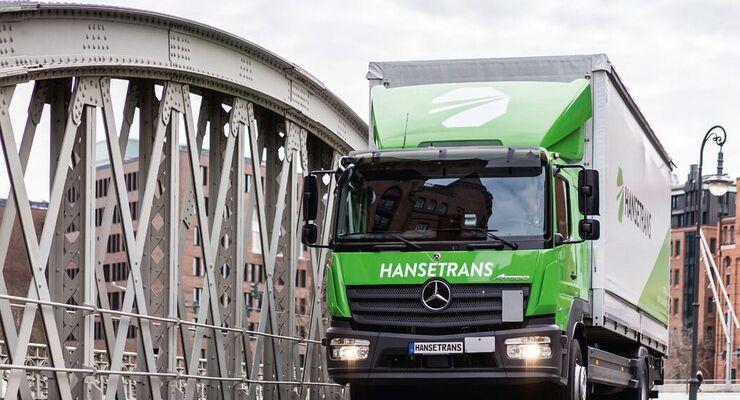 Lkw von Hansetrans