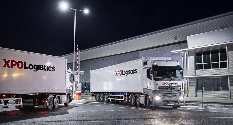 Lkw von XPO Logistics in Europa