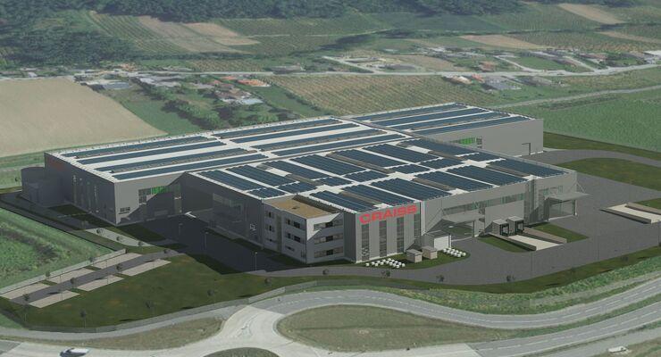 Logistikzentrum von Craiss für Siemens