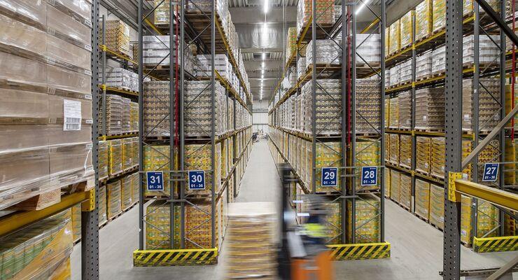 Logistikzentrum von DB Schenker in Güstrow