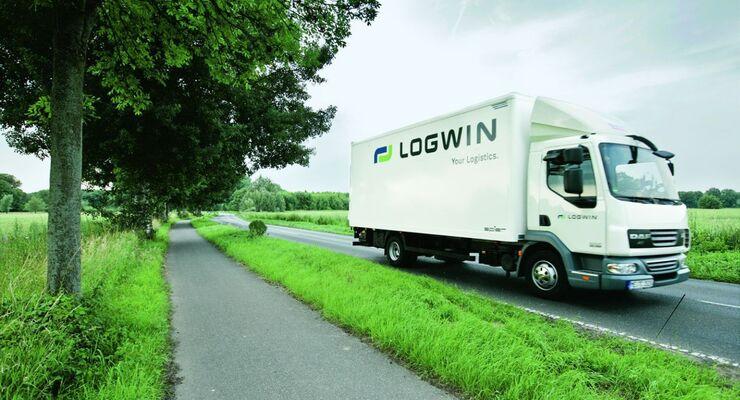 Logwin, Truck, Landstraße