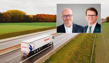Martin Eberle (links) folgt als Finanzvorstand bei Hellmann auf Dr. Michael Noth .