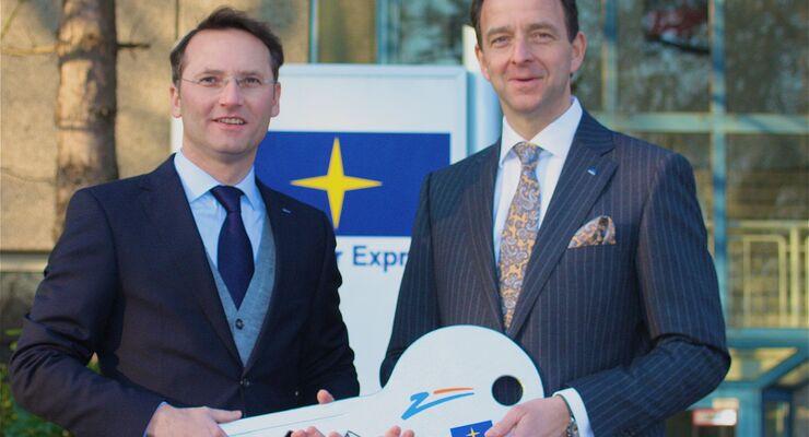 Matthias Hohmann, Jens Seidel, Zufall Logistics Unna, Februar 2012